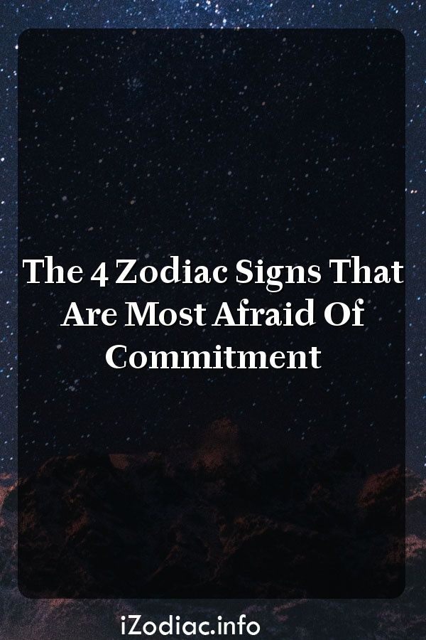 cancer man scared of commitment