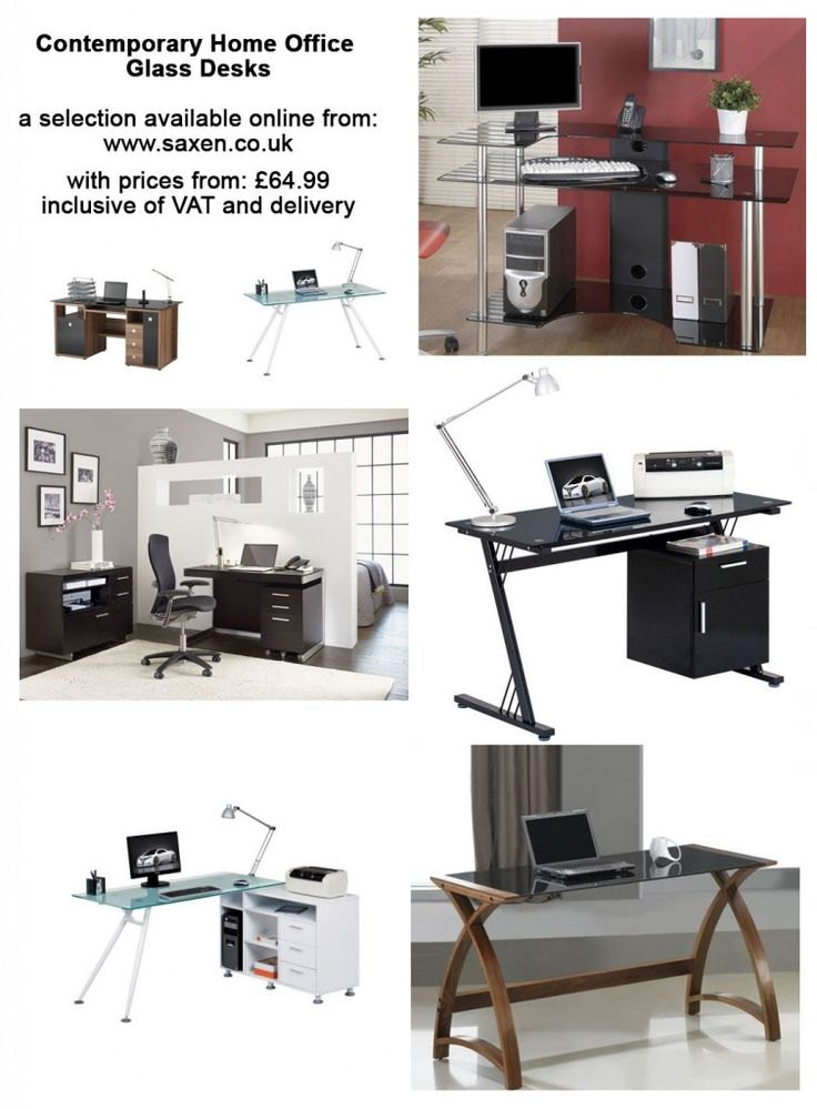 Contemporary Home Office Computer Desk with Glass Top64 best Home Office Computer Desks images on Pinterest   Home  . Contemporary Home Office Computer Desk. Home Design Ideas