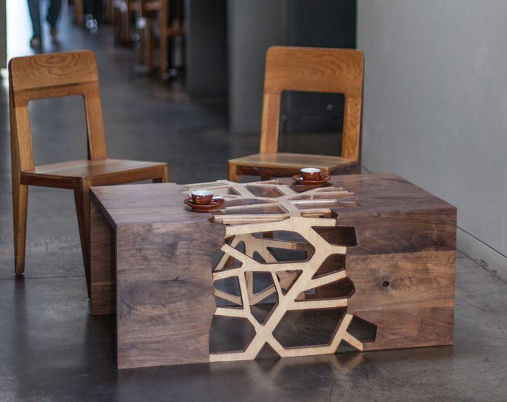 Журнальный столик от Gradient Matter
