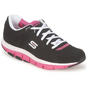 15% OFF! Shape-ups from @Skechers UK are proven to help keep you in shape as your walk! #outlet #clearance #trainers #walking #women #pinkandblack #fashion