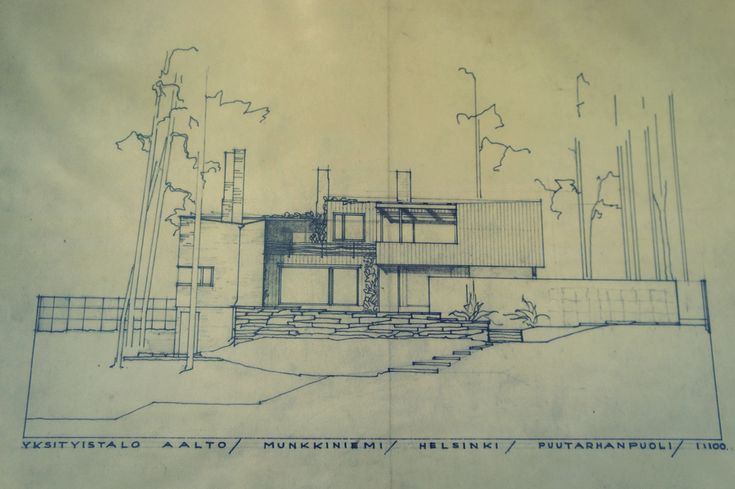 17 best images about alvar aalto residential on pinterest for Residential building plans dwg