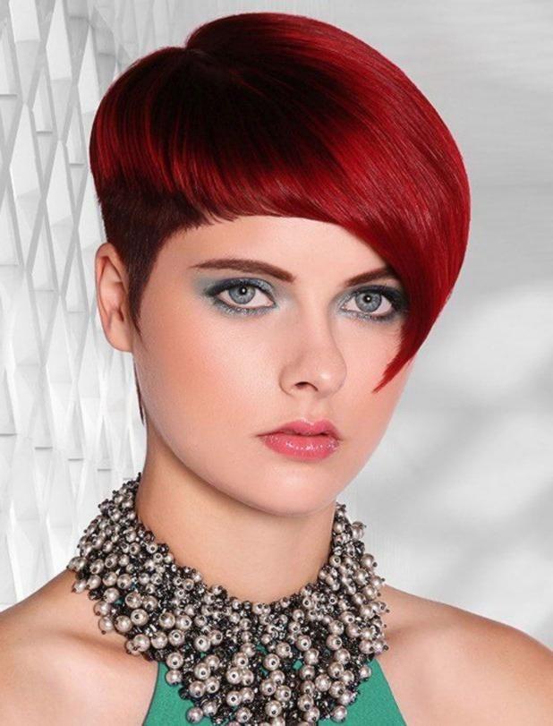 Frauen rote haare kurzhaarfrisuren 23 Kurze