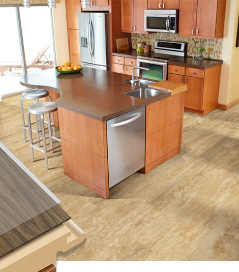 Types Of Kitchen Flooring Ideas: 8 Best Luxury Vinyl Tile Images On Pinterest