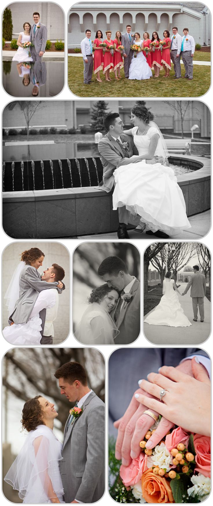 wedding pictures boise temple - Google Search