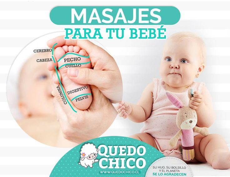 En #QuedoChico te enseñamos como calmar los dolores de tu bebé tan sólo con un ligero masaje en los pies
