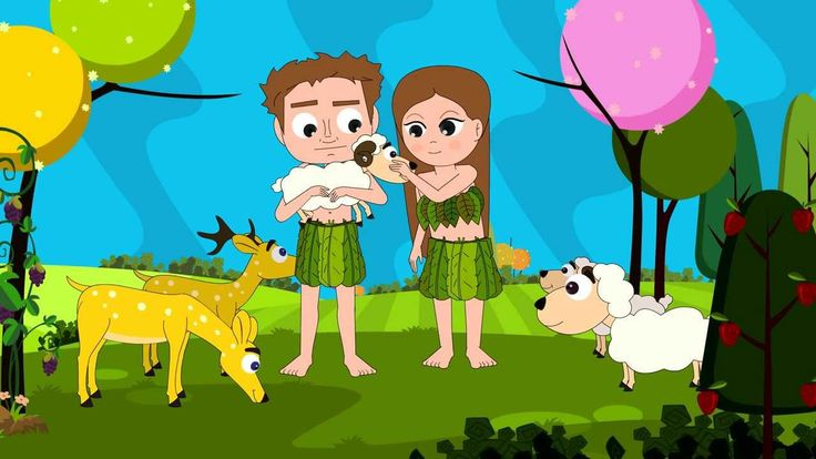 Bible Stories for Children: Adam and Eve Part 1