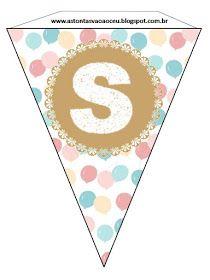 """Meninas,  Na semana passada compartilhei um modelo de bandeirinhas de """"Feliz Aniversário"""" que pode ser usada na Sociedade de Socorro. Hoje ..."""