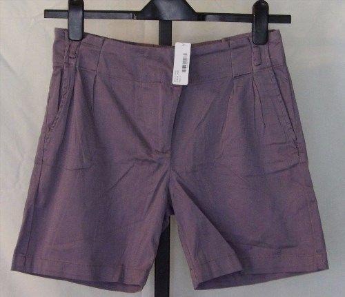 3.50$  Buy now - http://viunr.justgood.pw/vig/item.php?t=uwi0yn45643 - RPS Addict Womens Purple Shorts Size 2 Pleated Pockets 21430