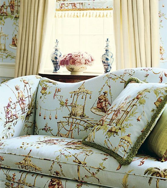 Chinoiserie Chic: Introducing Thibautu0027s South Sea Marco Polo The Inspiration