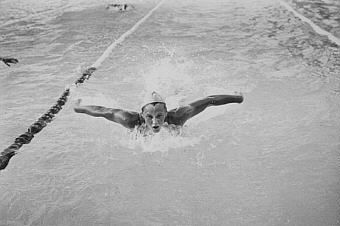 Australian swimmer, Shane Gould is a 3-time Olympic gold medalist. She won her first gold when she was only 15, and was named the Australian of the year in 1972.