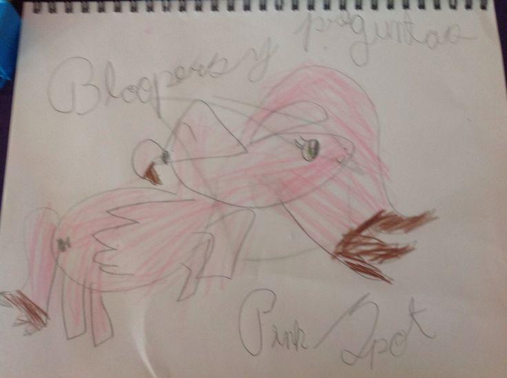 Dibujo de la serie Bloopers y preguntas!