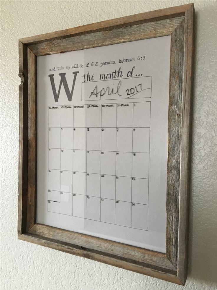 Framed Dry Erase Calendar Wall: Marvelous Design Ideas Framed Dry Erase Wall Calendar