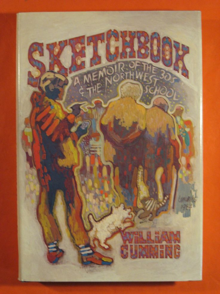 Sketchbook: A Memoir of the 1930s and the Northwest School by William Cumming by Pistilbooks on Etsy
