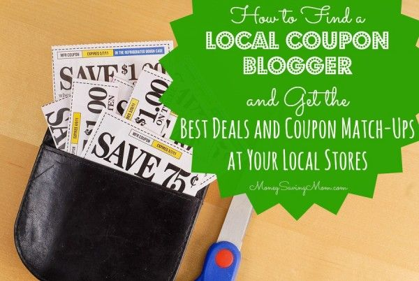 Get the best deals at your local stores without having to mess with matching the store fliers with your coupons! Here's how to find a local coupon blogger...