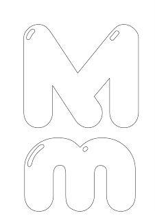 64 best letra m min scula may scula para aprender - Letras para dibujar ...