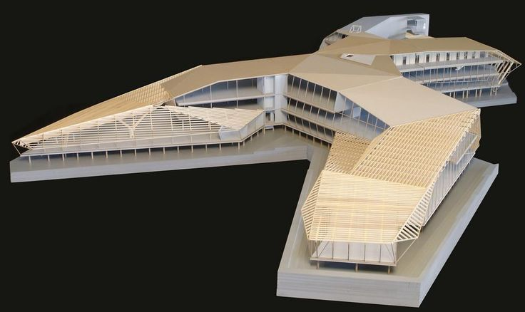 JVA (Jarmund/Vigsnæs AS Architects) | Svalbard Science Center | Norway | 2005, architectural model, maquette, modelo