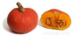 Sunshine or Kabocha Squash.   Changing things up for Thanksgiving this year!   This is a basic prep recipe. What you decide to do from there is up to you.