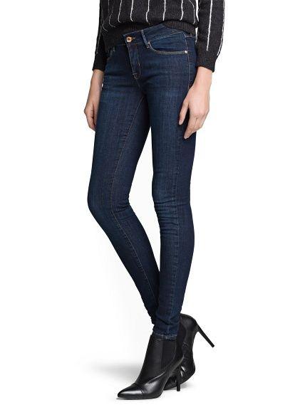 Super slim-fit dark Olivia jeans