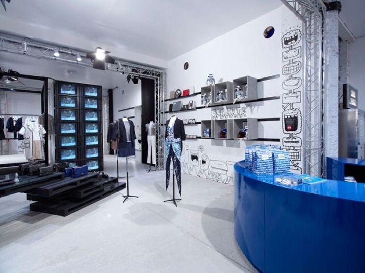 #Colette & #Chanel pop up shop, #Paris store design