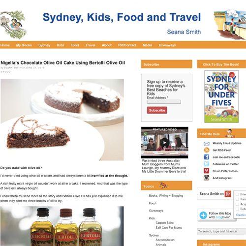 Nigella's chocolate olive oil cake using Bertolli. Beautifully done @Seana Smith. #baking #blogger #oiliveoil #cake