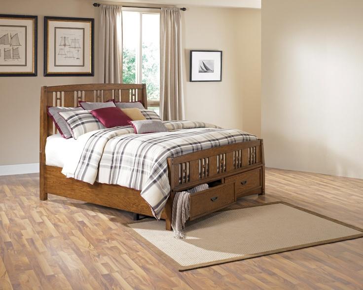 Kelvin Hall King Storage Bed