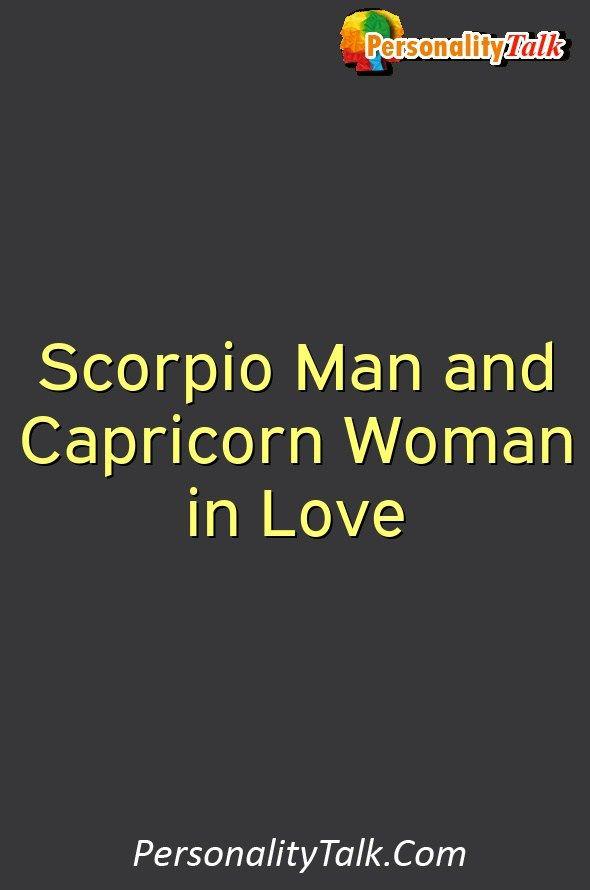 scorpio man not in love