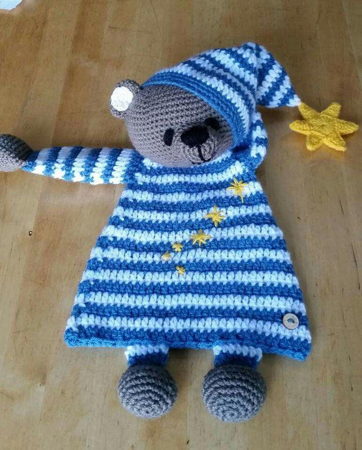 Bed Bear Rag doll