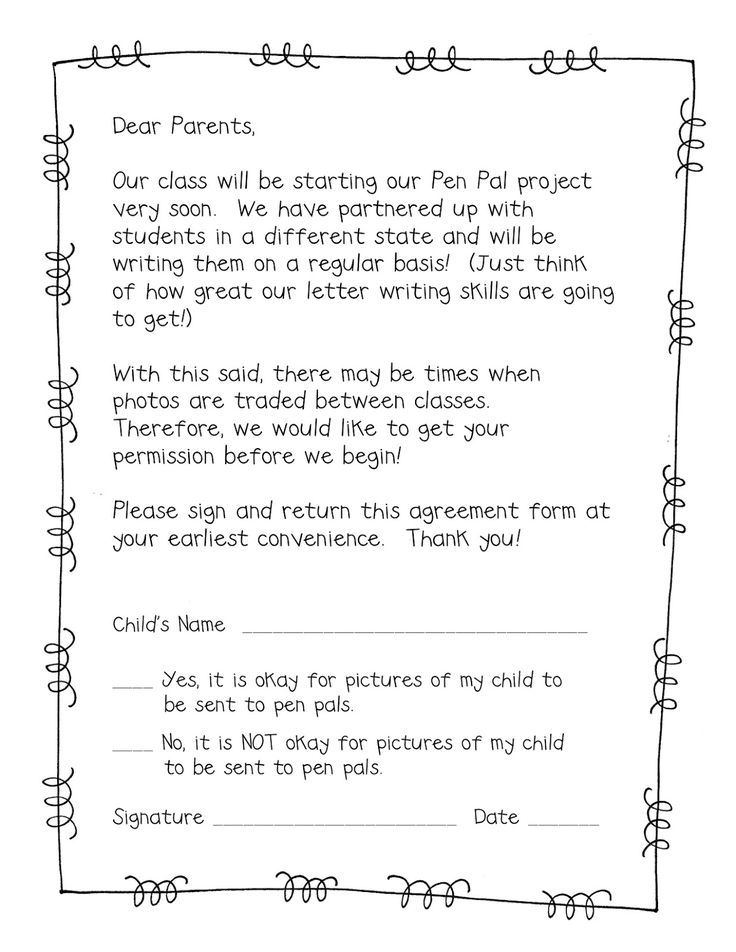 Sample Letter To Parents From Teacher About Grades