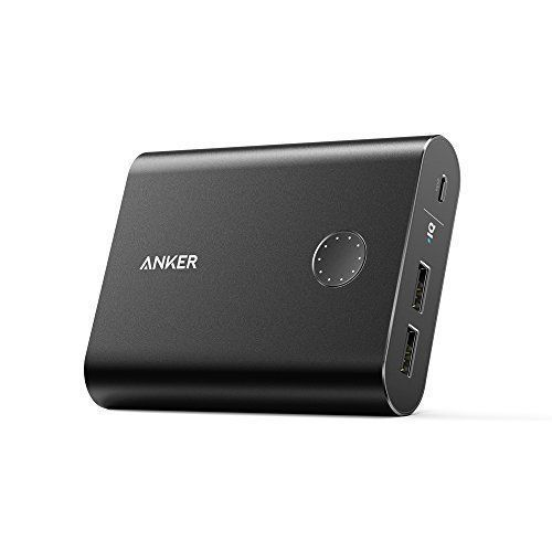 Anker PowerCore 13400 Premium Portable Charger 13400mAh External Battery Recharges 2X Faster Aluminum Shell Leading 48A Output Power BankBlack >>> Read more  at the image link.