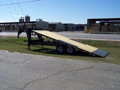 22' deckover tilt deck trailer gooseneck