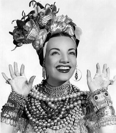 "Carmen Miranda ~Love her~ Especially in Springtime in the Rockies. ""Tootspaste"". lol"