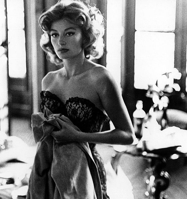 "Anouk Aimee - loved her in ""Un Homme et Une Femme.""  One of my all time favorite films."