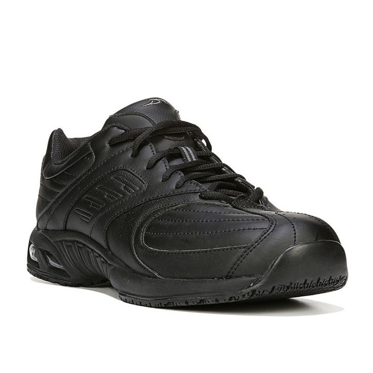Dr. Scholl's Cambridge II Men's Work Shoes, Size: medium (11.5), Black