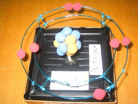 3D Atom Model | Atom Models and Element Posters | Mrs. Os Outstanding Orangs