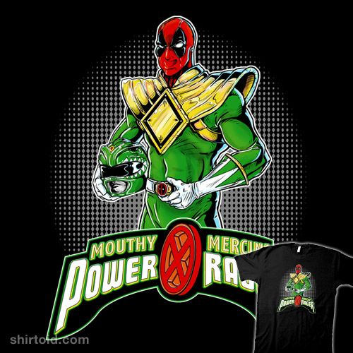 Green Power Rager #comic #comics #deadpool #marvelcomics #powerrangers #silverbax