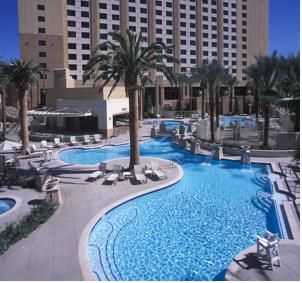 CAD207 Situated on the north end of the Las Vegas Strip, this hotel is a 10-minute walk from area casinos.