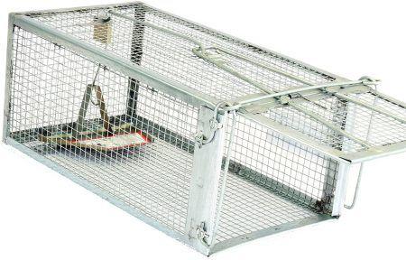 TheAtomicBarbie Rat Trap - Small Animal Humane Live Cage