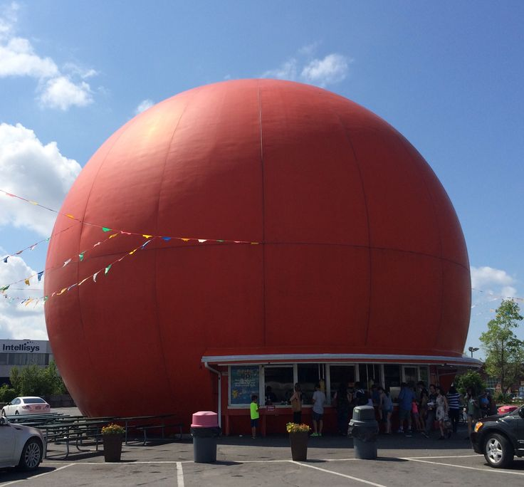 Gibeau Orange Julep, popular Montréal fast food joint, has been a local institution since 1932. #montreal #quebec #canada #travel #food #orange