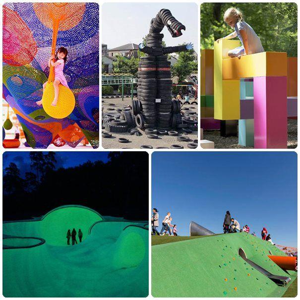 5 parques infantiles de ensueño. Os presentamos 5 parques temáticos para niños que os dejarán con la boca abierta.