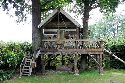 Boomhut laten bouwen | Inrichting-huis.com