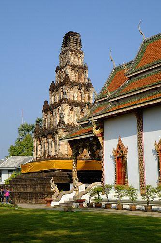 Wat Chamthewi Chan Mai Thailand