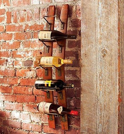 wine barrel wine rack...I saw these up in Fredericksburg and I WANT them so bad!
