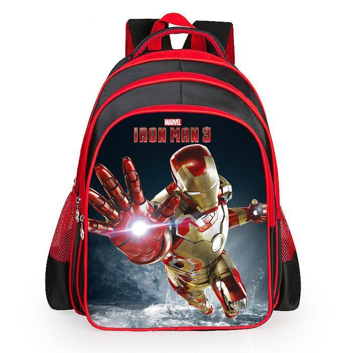$16.60 (Buy here: https://alitems.com/g/1e8d114494ebda23ff8b16525dc3e8/?i=5&ulp=https%3A%2F%2Fwww.aliexpress.com%2Fitem%2F2015-Hot-sale-new-iron-man-backpack-cartoon-bags-Avengers-children-boys-school-bag-kids-girls%2F32416279240.html ) 2016 Hot sale new iron man backpack cartoon bags Avengers children boys school bag kids girls grade book bag pupil for just $16.60