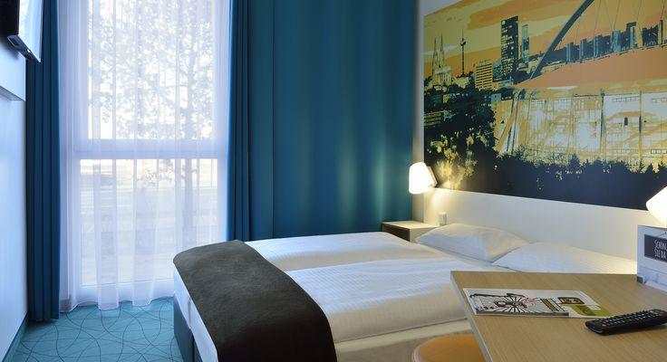 Zweibettzimmer im B&B Hotel Köln-Messe