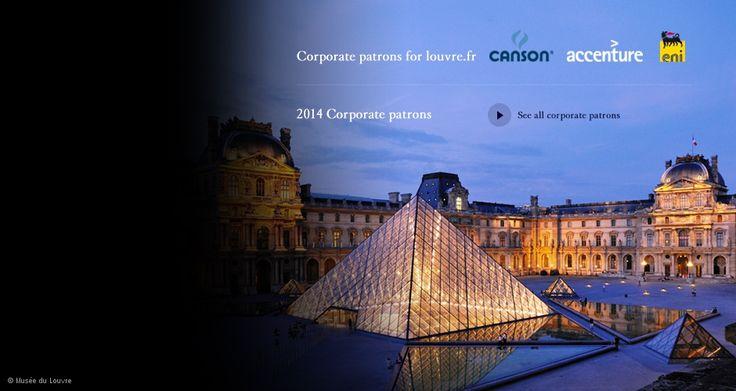 Carrousel - le Louvre remercie les mécènes - EN