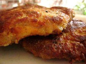 Breaded Italian Pork Chops. -  Ingredients 3 eggs, lightly beaten 3 tablespoons milk 1 1/2 cups Italian seasoned breadcrumbs 1/2 cup grated parmesan cheese 2 tablesp...