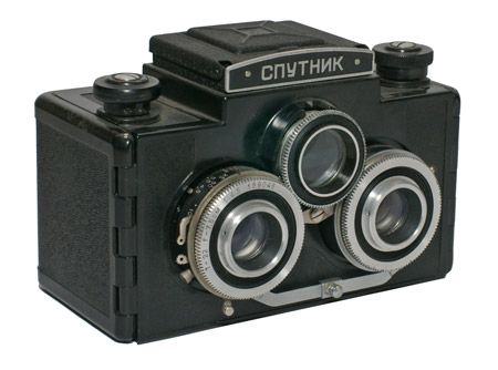 SPUTNIK STEREO CAMERA - crazy looking thing!