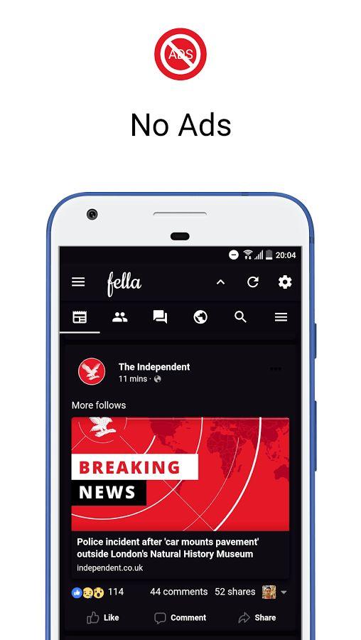 Fella for Facebook Premium v1.4.7 Cracked APK Download