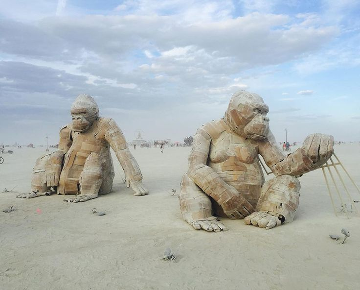 as it officially comes to a close, we take a look at some of the burning man art…