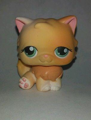 Lps orange persian cat